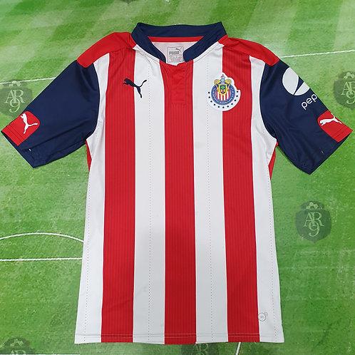 Camiseta Chivas de Guadalajara 2016/17 #20 R. Pizarro