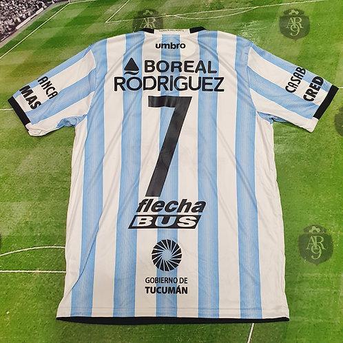Camiseta Titular Atlético Tucuman 2017/18 #7 Rodriguez