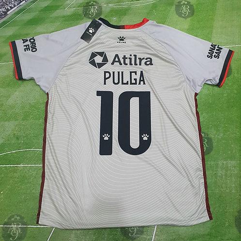Camiseta Alternativa Colón de Santa Fe #10 Pulga Rodriguez
