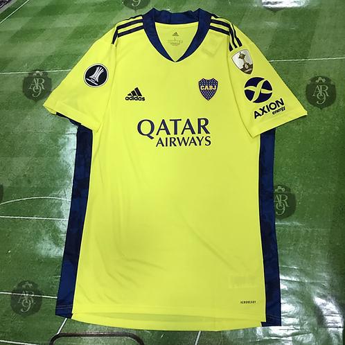 Camiseta Arquero Boca Juniors Copa Libertadores 2020/21