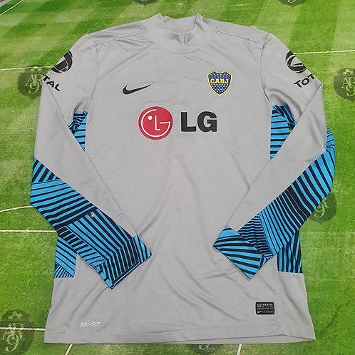 Camiseta Arquero Manga Larga Boca Juniors  2011/12 #1 Orion