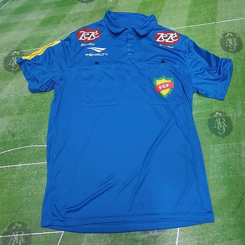 Camiseta Arbitro Futbol Brasilero Azul