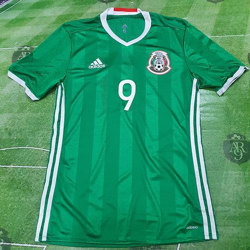 Camiseta Titular Selección México 2016 #9 O. Peralta