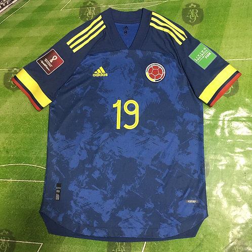 Camiseta Selección Colombia Alternativa 2020 Eliminatorias Qatar #19 L.