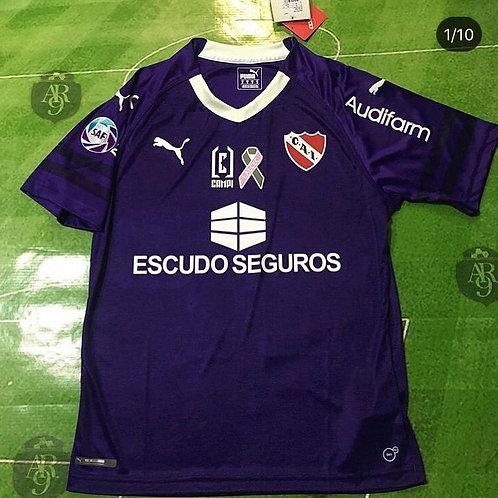 Camiseta Arquero Independiente Violeta 2019/20 Parche Lalcec
