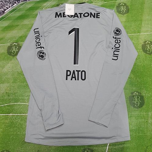 Camiseta Arquero Gris Boca Juniors 2008 #1 Pato Abbondanzieri