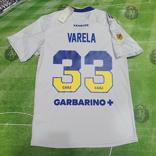 Camiseta Alternativa AeroReady Boca Juniors 2021/22 #33 Varela