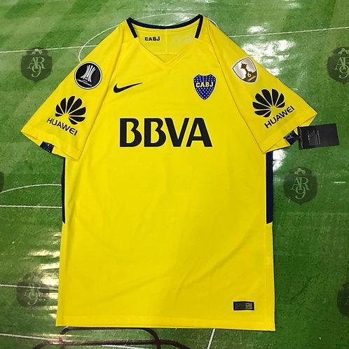 Camiseta Boca Juniors Alternativa Copa Libertadores 2018