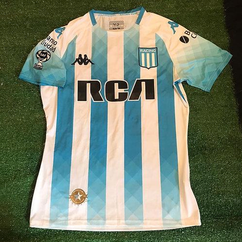Camiseta Racing Titular Copa SuperLiga 2019/20