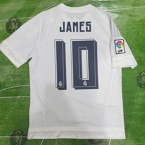 Camiseta Titular Real Madrid 2016/17 #10 James
