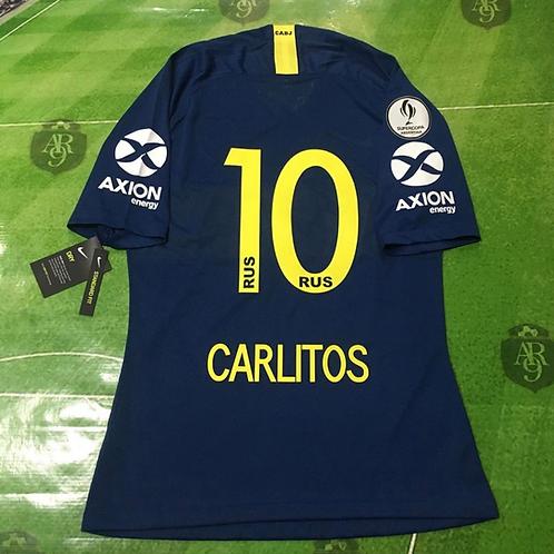 Camiseta Boca Juniors Titular Final Supercopa Argentina 2018