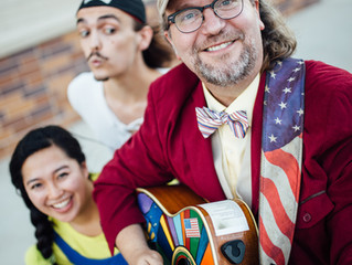 The Mighty Magic Pants Emerge from Tragedy with a New Superhero Album
