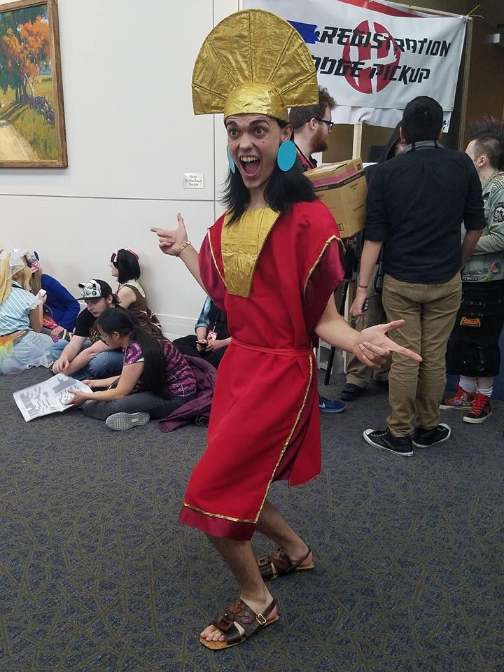 Buccaneer Ben as Emperor Kuzco