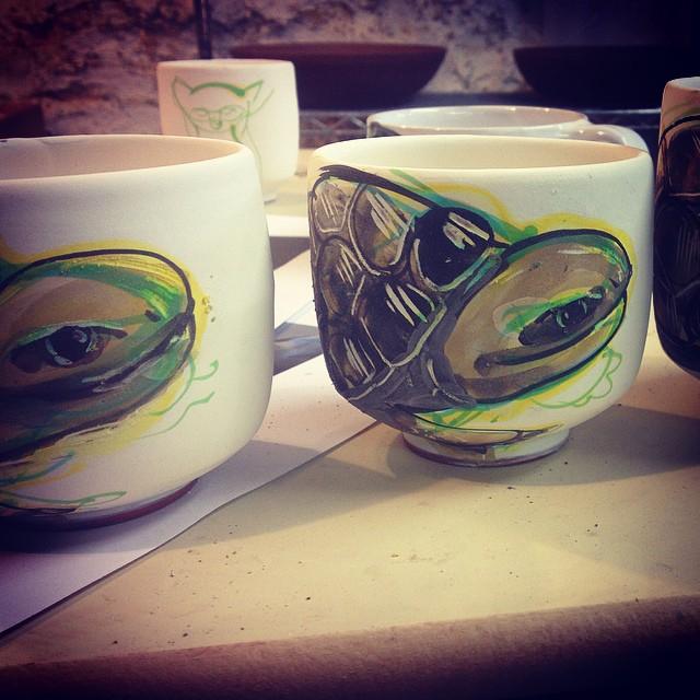 Instagram - Turtle cups....jpg