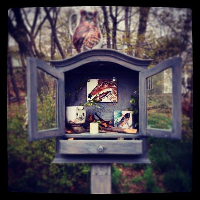 Instagram - Shrine to the Animals at Menotomy Rocks Park, Arlington Ma