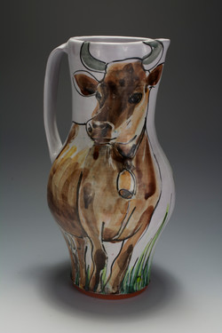 Brown Cow Pitcher