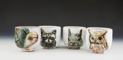 Backyard Animal Cups