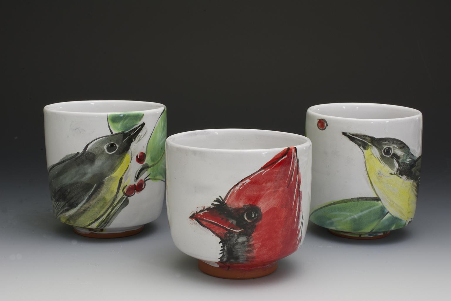 Three Bird Cups