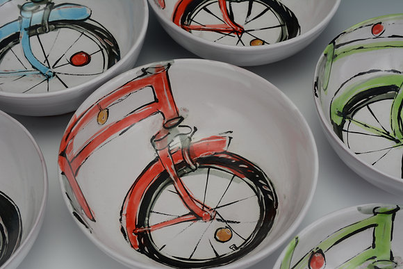 Bicycle Cereal Bowl