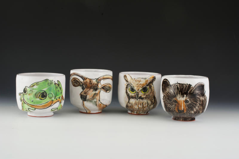 Woodland Critter Cups