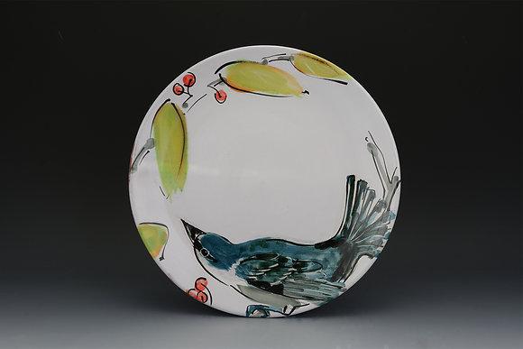 Cerulean Warbler Dinner Plate