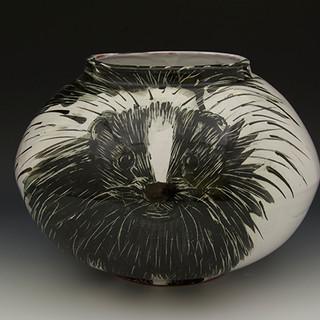 Skunk Moon Jar