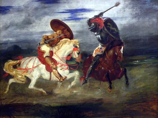 Giostre medievali   L'arte della guerra è conseguenza oppure origine della rivalità?