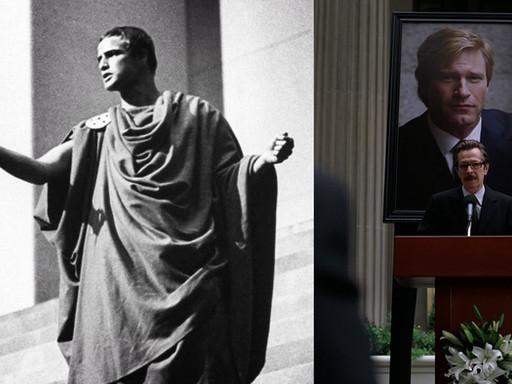 Giulio Cesare e Il cavaliere oscuro   Il processo di divinizzazione in Shakespeare e Nolan