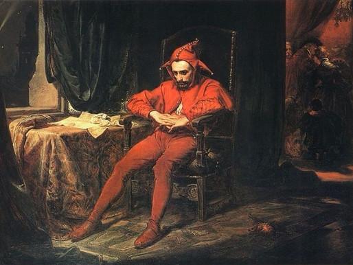 Riccardo II, o del collasso della trascendenza | Fool, Croce, specchio