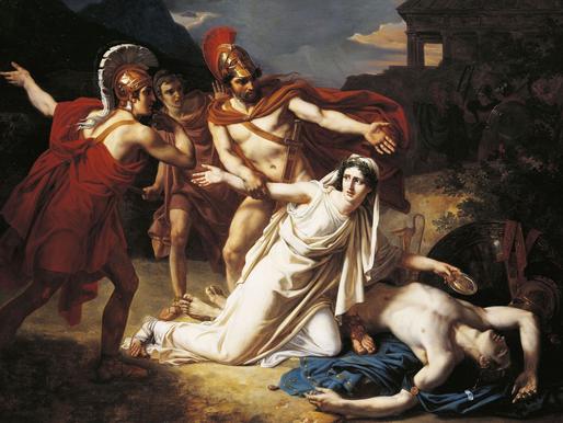 Creonte e Antigone   Al di là delle differenze assolute