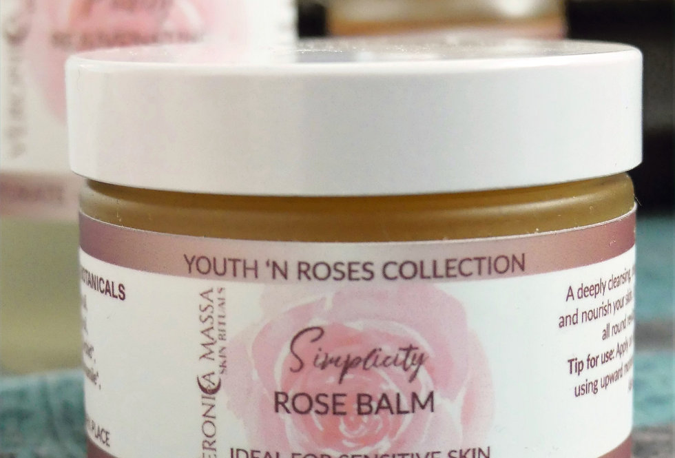 Simplicity - Rose Cleansing Balm - 50gr