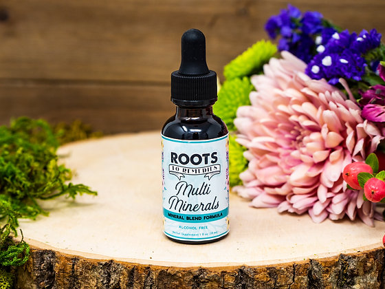 Multi Minerals Mineral Blend Herbal Extract