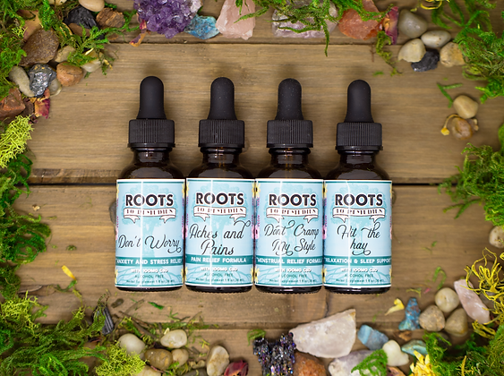 CBD Infused Herbal Extracts