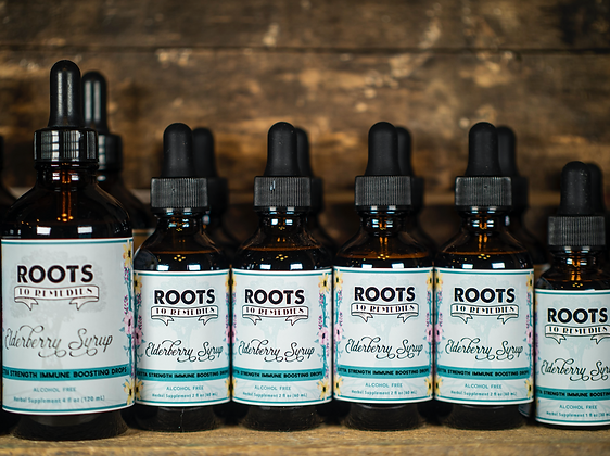 Elderberry Syrup Drops (Extra Strength/Highly Concentrated)