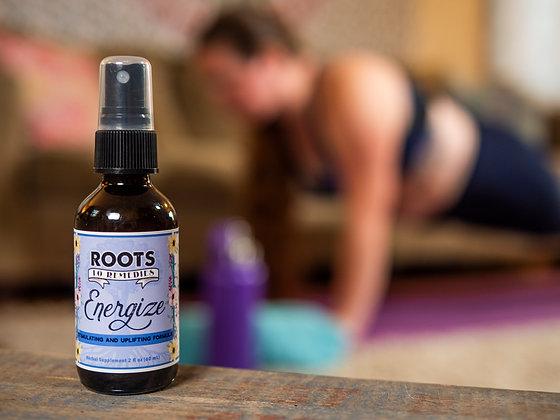Energize Herbal Infused Magnesium Spray