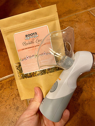"""""""Breathe Easy"""" Lung and Respiratory Tea and Nebulizer Blend"""