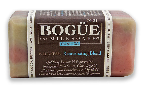 "Bogue Wellness ""Rejuvenating Blend"" Milk Soap"