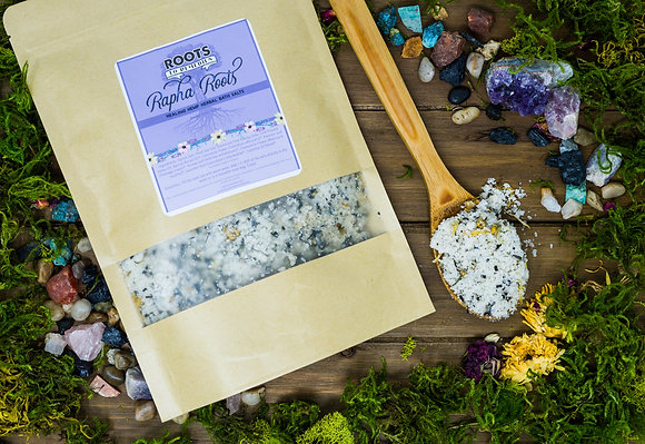 Rapha Roots Healing Herbal Mineral Bath Salts