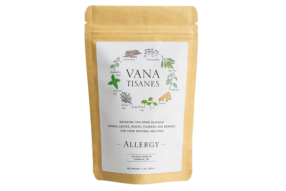 Vana Tisanes Allergy Herbal Tea