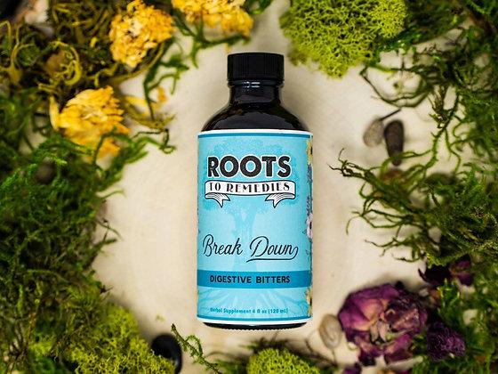 """Break Down"" Digestive Bitters Herbal Tincture"