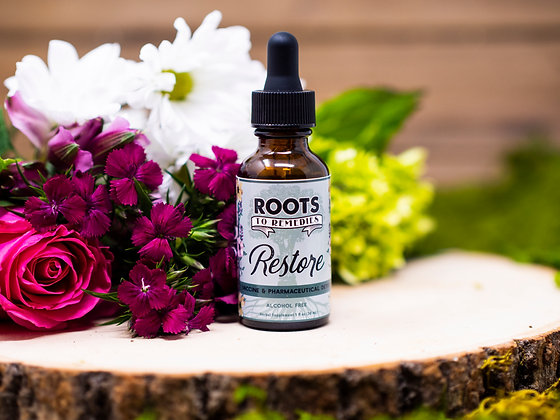 """Restore"" Vaccine & Pharmaceutical Detox Herbal Extract"