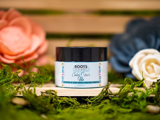 Calm Your Tits Chapped & Sore Nipple Salve