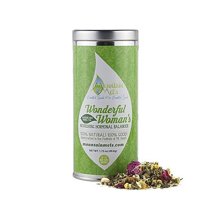 Mountain Mel's Wonderful Woman's Nourishing Hormonal Balancer Herbal Tea