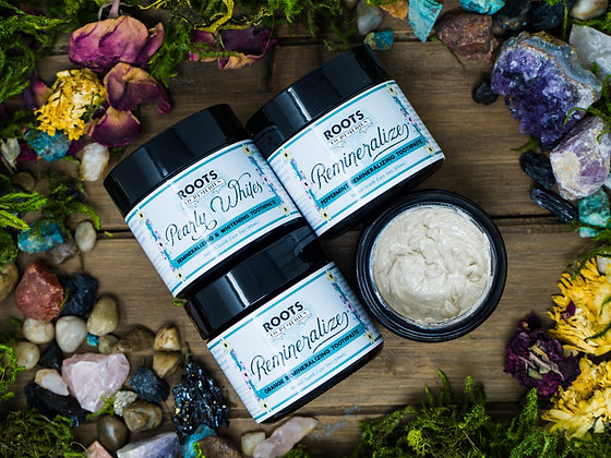 Remineralizing Herbal Toothpaste