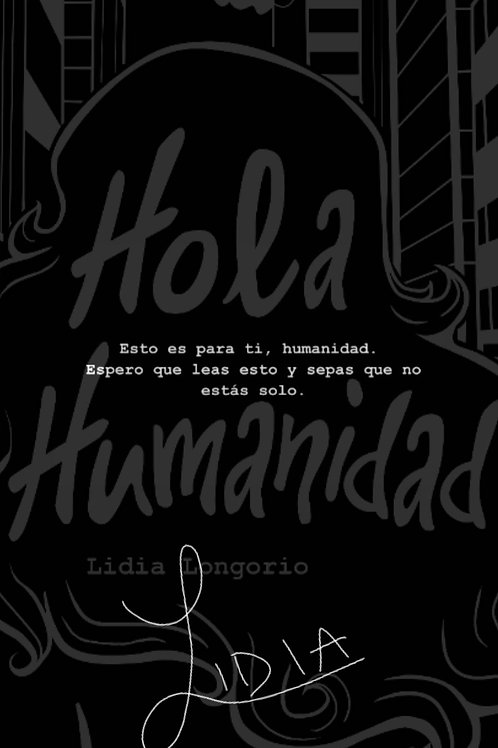 Hola Humanidad (Autografiado)