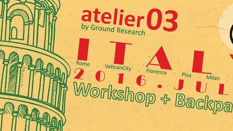Atelier 03 - Italy