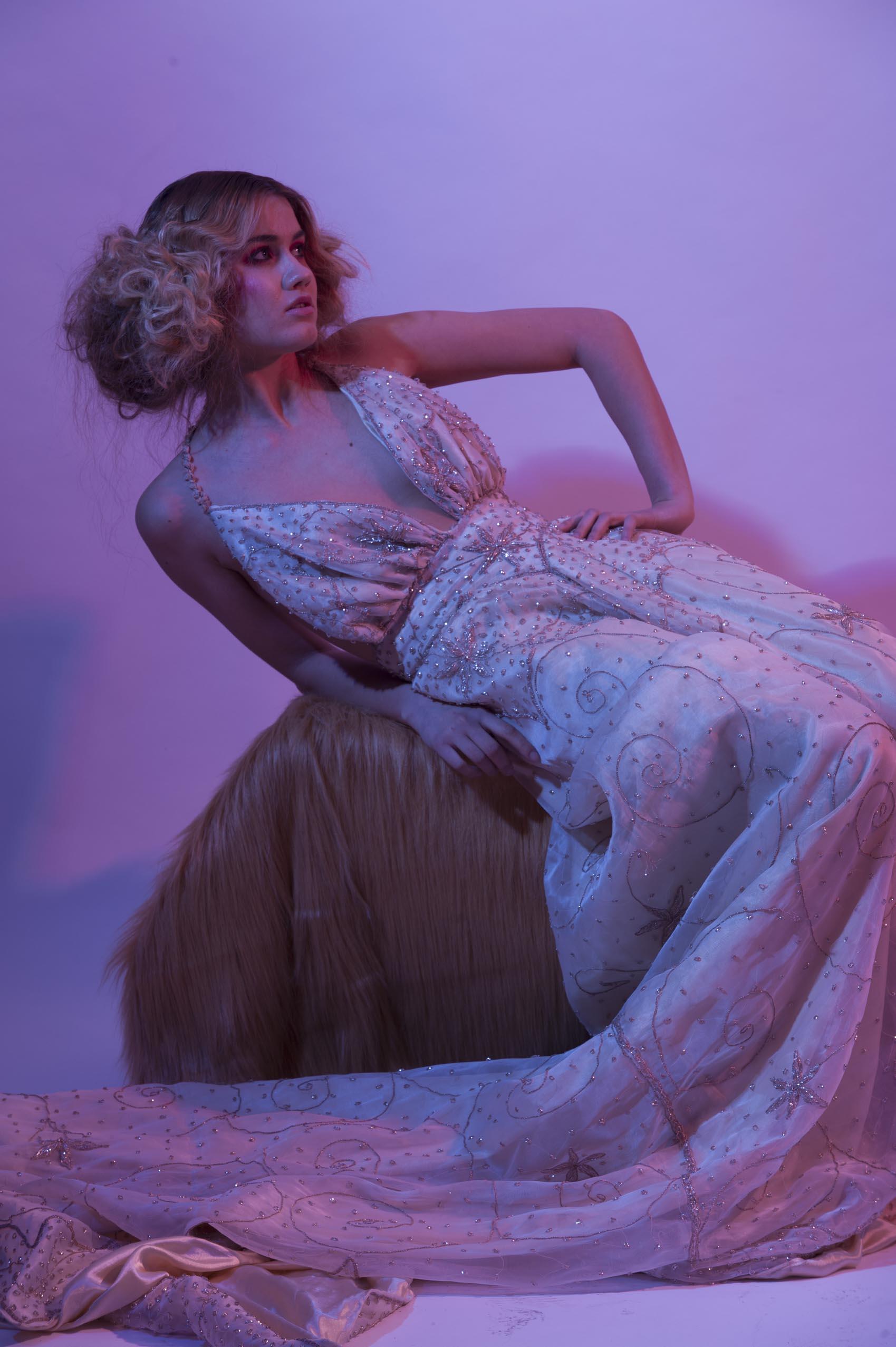 Model Olga Nedorezova