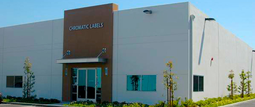 Chromatic Labels Main Building