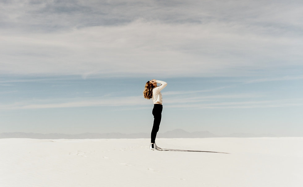 Image of a girl on sand