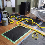 Floor Mat Drying System